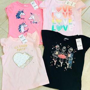Epic Threads Graphic Girls Tee Shirts